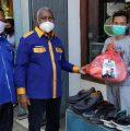 Batasi Jam Pasar, NasDem Sambangi Pedagang Kaki Lima