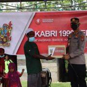 Alumni AKABRI 1999 Selenggarakan Vaksinasi Merdekar di Kampung Nurumber Pulau Panjang