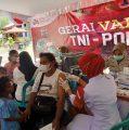 Gelar Gerai Vaksinasi Presisi di SMP Negeri Fanindi